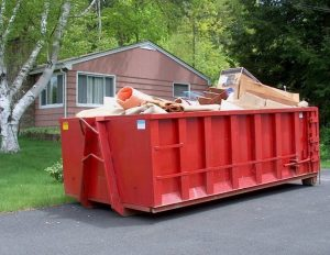 dumpster rental sizes